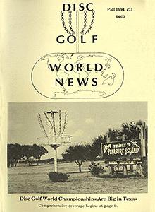 Disc Golf World News v8#31 Fall94