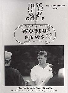 Disc Golf World News v8#32 Winter94