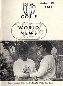 Disc Golf World News v3n1 Spring89