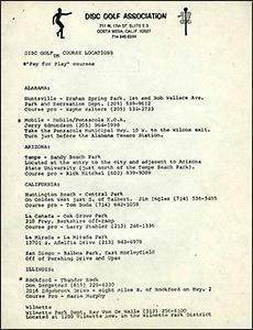 DGA Course Directory-c.1978