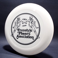 1979 FPA—Original Logo—Wham-O 80 Mold—White—Black
