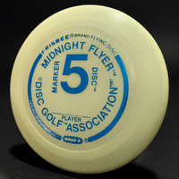 Midnight Flyer #5—Marker Disc Mini—Metallic Blue