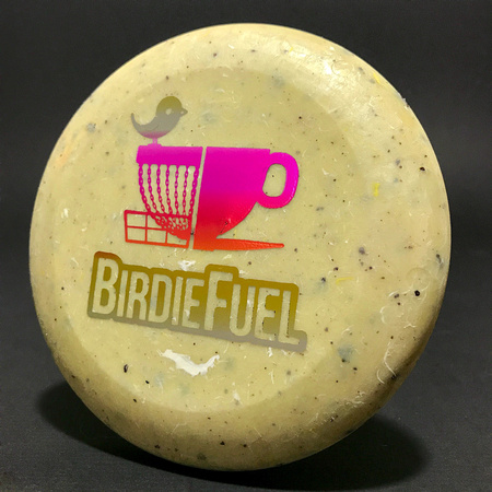 Birdie Fuel—Zing Mini Cozmo—Yellow Speckled—Metallic Rainbow