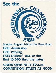 1980 WFC Rose Bowl Flyer
