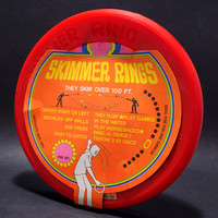 Grace Toys—Skimmer Rings—Red—Retail Packaging