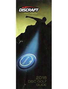 2016 Discraft Disc Golf Guide
