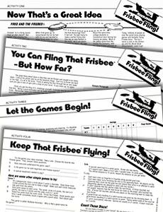 Frisbee Fling Activities