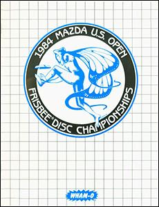 1984 US Open Program