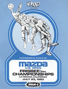 1983 US Open Program