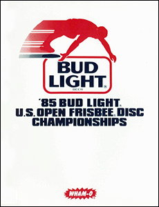 1985 US Open Program