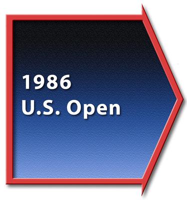 1986 US Open Divider
