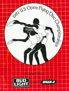 1987 US Open Program