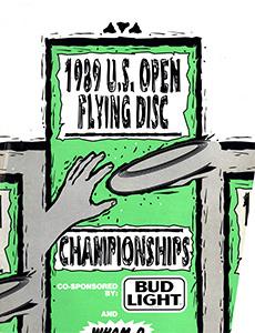 1989 US Open Program