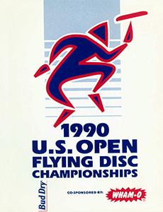 1990 US Open Program