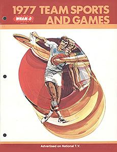 Wham-O Team Sports Catalog 1977