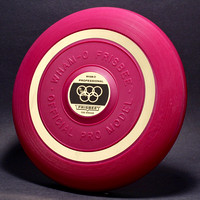 Maroon—1 Mold—4th Style—Gold Band—2nd Olympic Label