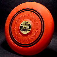 Official Pro Model—Fire Orange—16 Mold—3rd Style—2 Black Bands