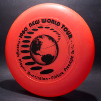 1980 FPA New World Tour—Discraft Sky-Styler—Orange—Black