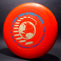 1980 FPA New World Tour—Discraft Sky-Styler—Orange—Metallic Blue, Gold