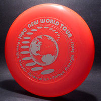 1980 FPA New World Tour—Discraft Sky-Styler—Orange—Silver
