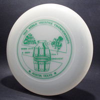 1980 FPA Worlds—Austin—Discraft Sky-Styler—Unpigmented—Green