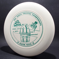 1980 FPA Worlds—Austin—Discraft Sky-Styler—White—Green