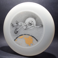 1982 FPA Worlds—Austin—Discraft Sky-Styler—Unpigmented—Black, Gold