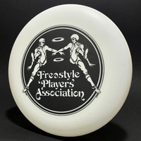 1979 FPA—Original Logo—Dreamflights Floater—White—Black (reversed)