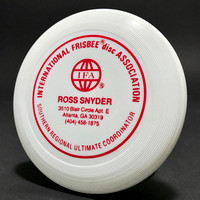 Ross Snyder—PDGA # 65