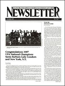UPA Newsletter v7n07 Dec87