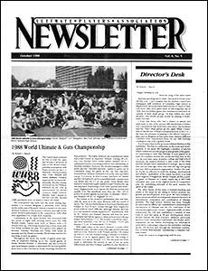 UPA Newsletter v8n05 Oct88
