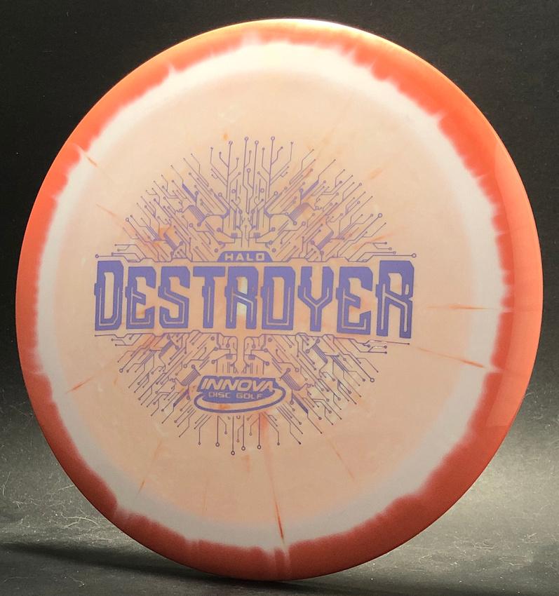 Destroyer, Halo Star—Swoosh—Orange-White Swirl—Silver