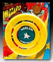 Larami Corp.—Harlem Globetrotters Wizzard Wheel—Yellow—Package