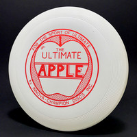 Apple, The Ultimate—Apple—White—Metallic Red
