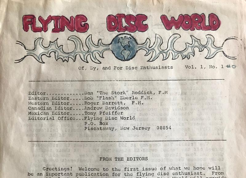 Flying Disc World
