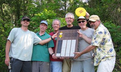 Early Minnesota Disc Sports Hall of Famers, Dave Bogenhagen, Tim Mackey, Bill Ashton, Joe Feidt, Paul Thompson, Lyle Jensen