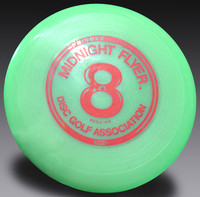 Midnight Flyer #8 70C mold stock green 97G (non-glow)