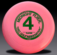 Midnight Flyer #4 40G Mold Pink with Green