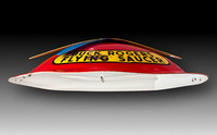 Buck Rogers Flying Saucer—Side