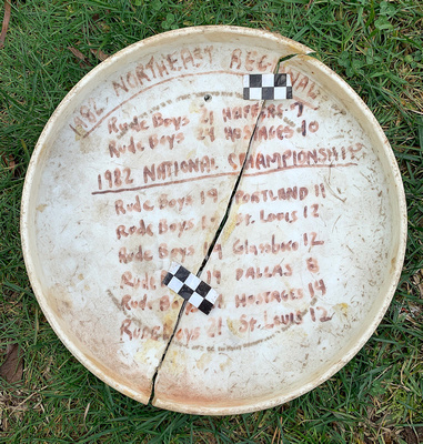 1982 UPA National Championships game disc