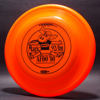 AFDO, 1980—Wham-O FB8 Mold—Orange—Black