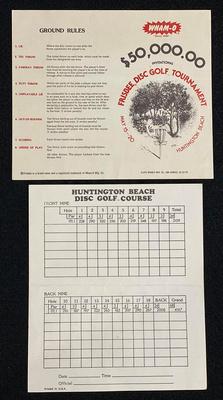 $50,000 Tournament Scorecard