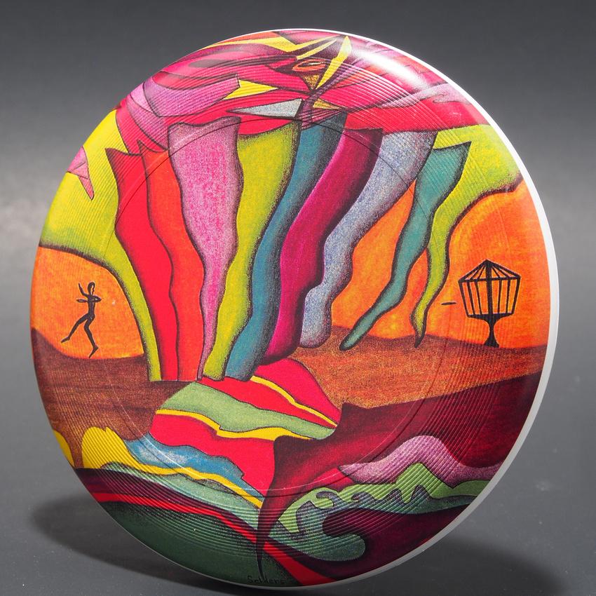 "Shawn Selders— ""The First Disc Golfer""—Discraft Mini-Star—Discraft Supercolor"